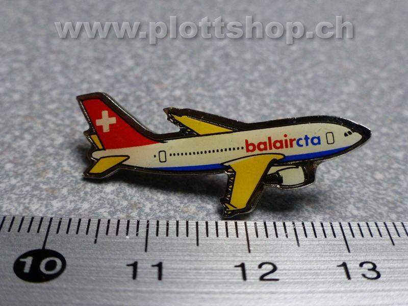 Pin Flugzeug Jet Airlines Flieger, Balair