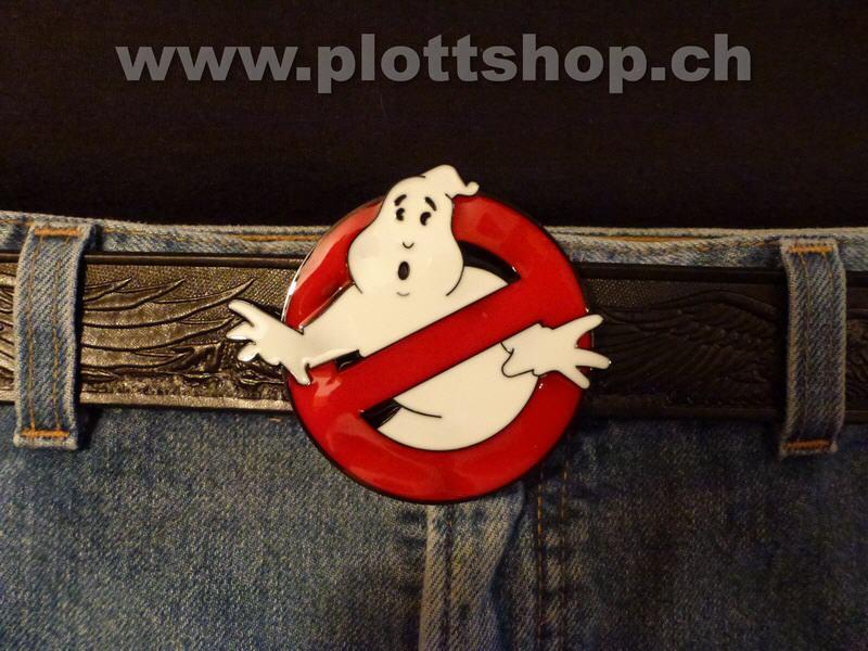 Gürtelschnalle Ghost Buster Ghostbusters Buckle Geisterjäger Film